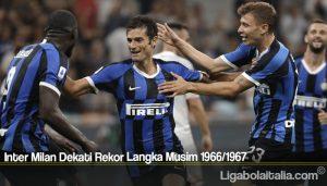 Inter Milan Dekati Rekor Langka Musim 1966/1967