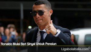 Ronaldo Mulai Beri Sinyal Untuk Pensiun