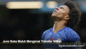 Juve Buka Mulut Mengenai Transfer Wilian