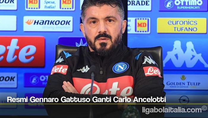 Resmi Gennaro Gattuso Ganti Carlo Ancelotti