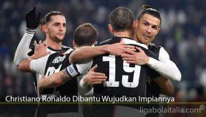 Christiano Ronaldo Dibantu Wujudkan Impiannya