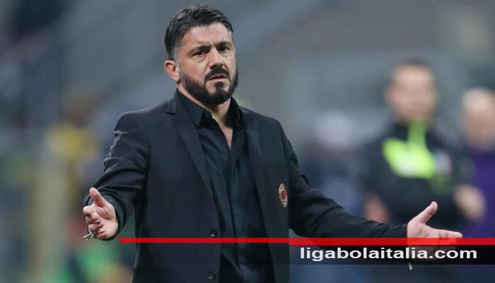 Gattuso Kecewa dengan Performa Milan di Babak Pertama