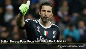 Buffon Merasa Puas Pecahkan Rekor Paolo Maldini