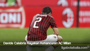 Davide Calabria Rayakan Kehancuran AC Milan