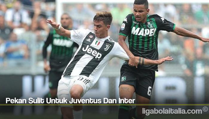 Pekan Sulit Untuk Juventus Dan Inter