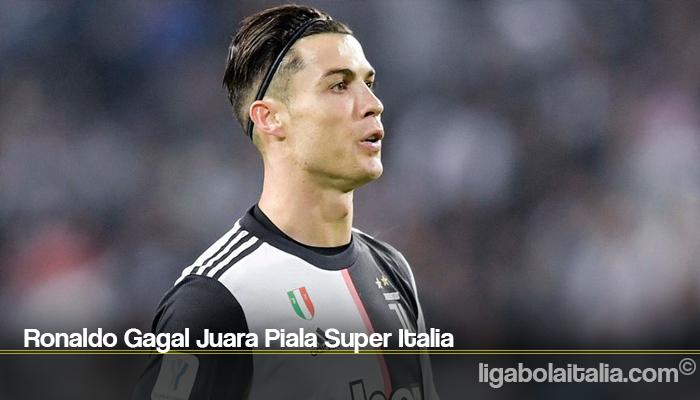 Ronaldo Gagal Juara Piala Super Italia