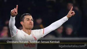 Christiano Ronaldo Torehkan Sensasi Kembali