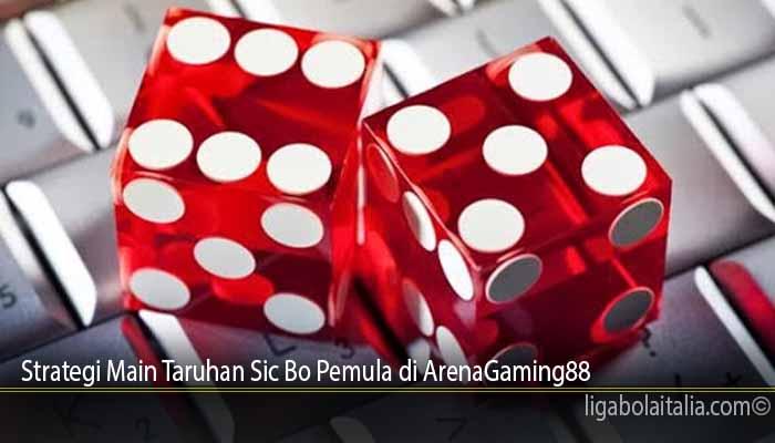 Strategi Main Taruhan Sic Bo Pemula di ArenaGaming88